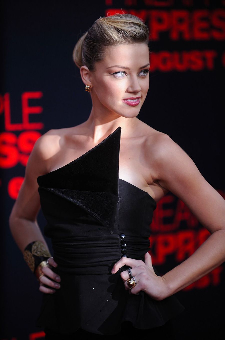 Amber Heard le 1 août 2008