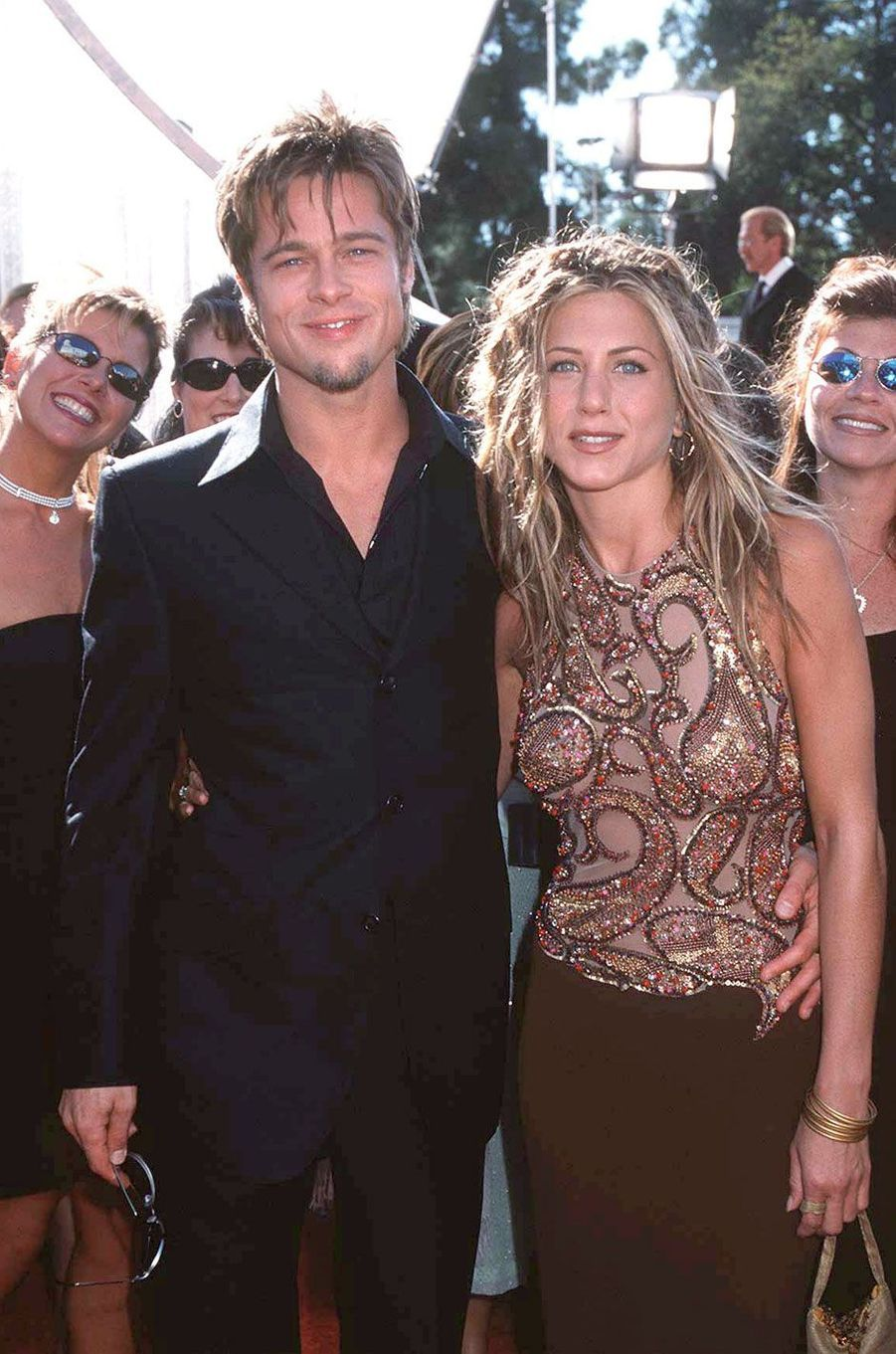 Brad Pitt et Jennifer Aniston, un couple mythique