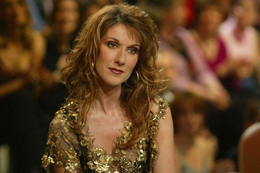 La chanteuse Céline Dion.