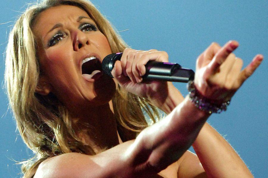 Céline Dion en 2008.