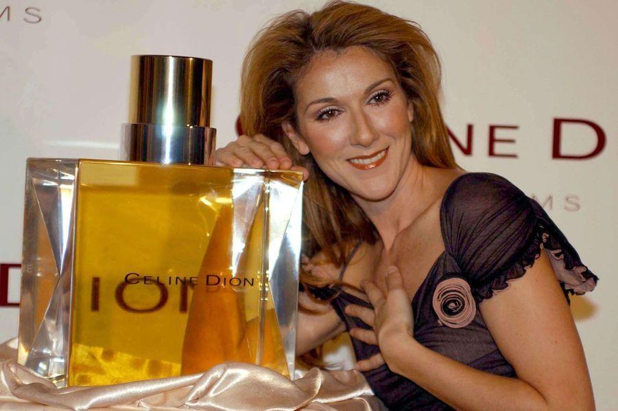 Céline Dion en 2003.