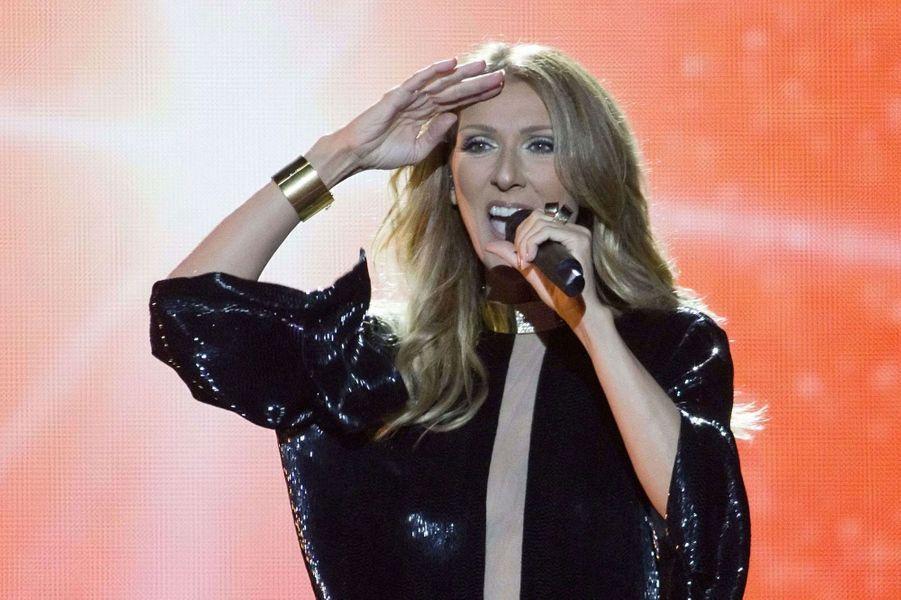 Céline Dion en 2013.