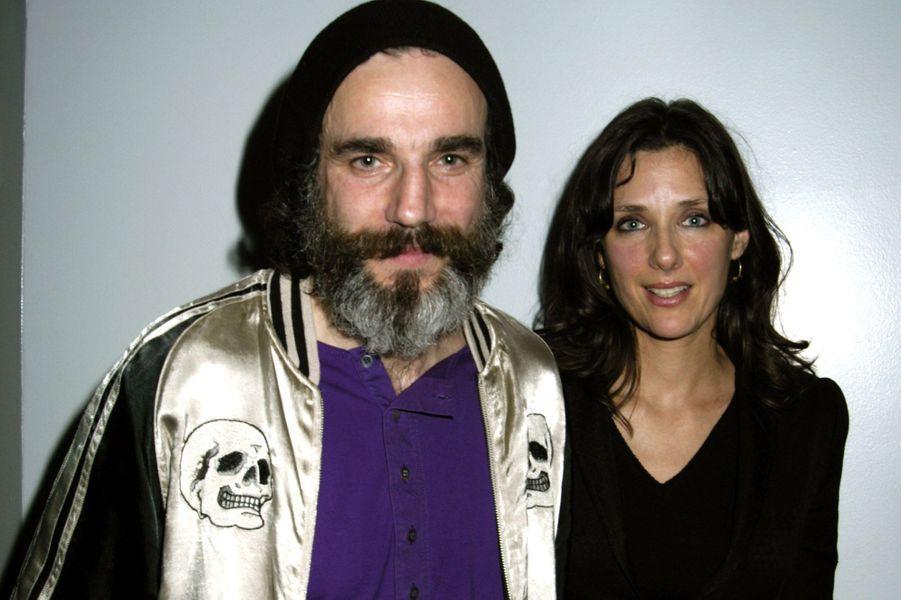 Daniel Day-Lewis avec sa compagne Rebecca Miller en 2005.