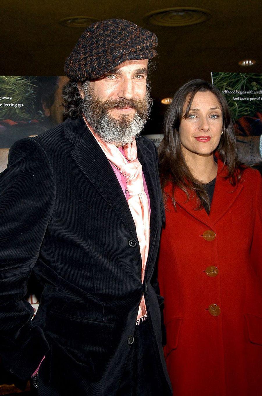 Daniel Day-Lewis avec son compagne Rebecca Miller.