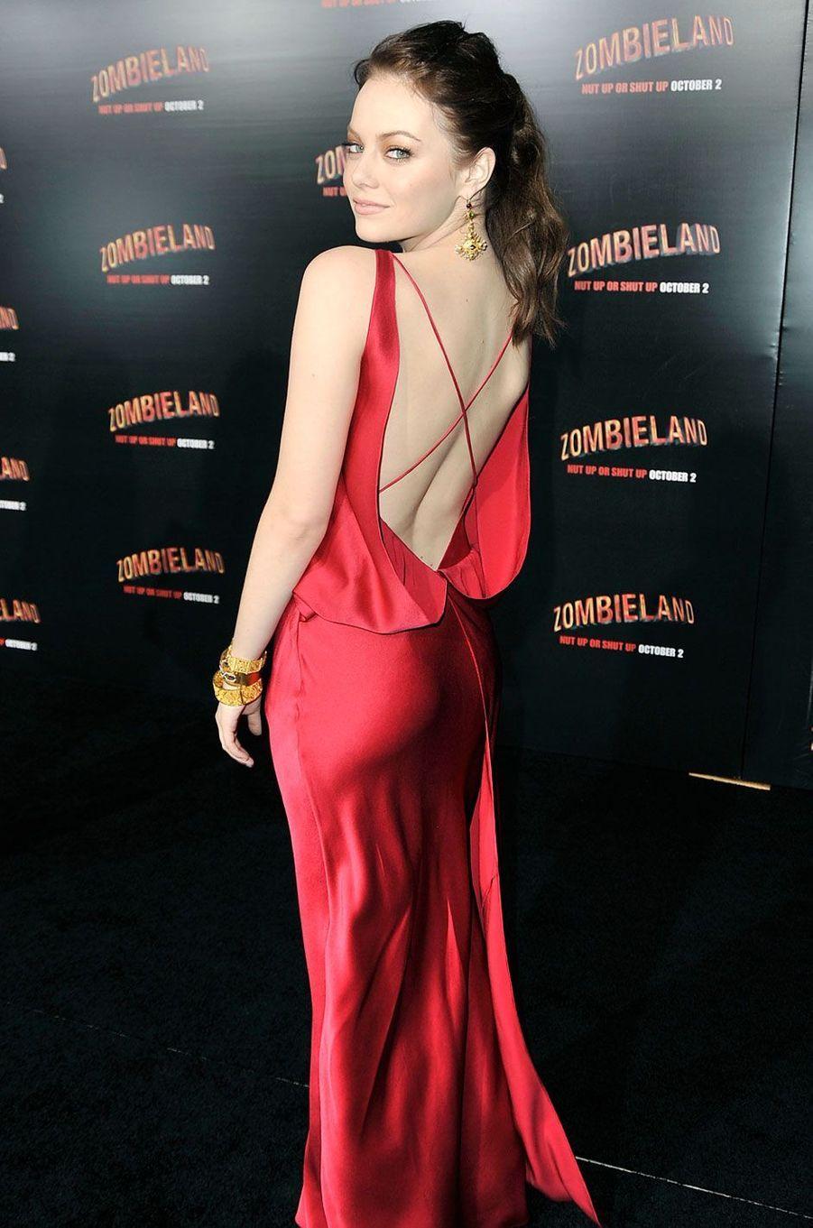 Emma Stone, en 2009