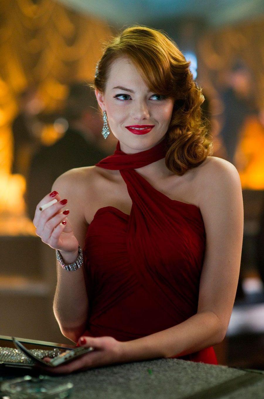 """Emma Stone, en 2012 dans """"Gangster squad"""""""