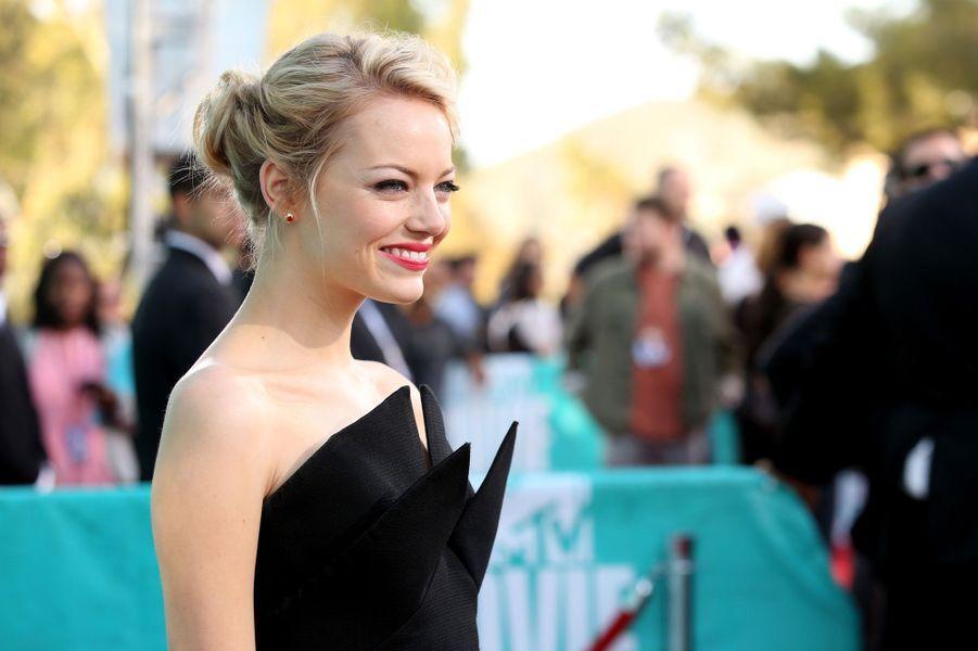 Emma Stone, en 2012