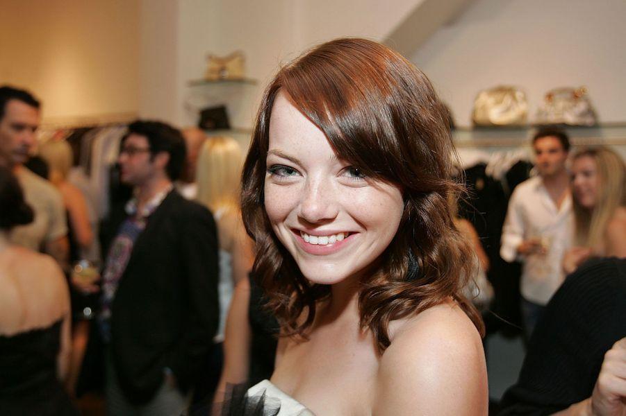Emma Stone, en 2008