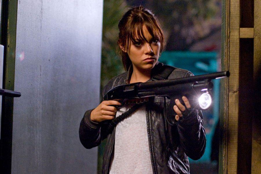 """Emma Stone, en 2009 dans """"Zombieland"""""""