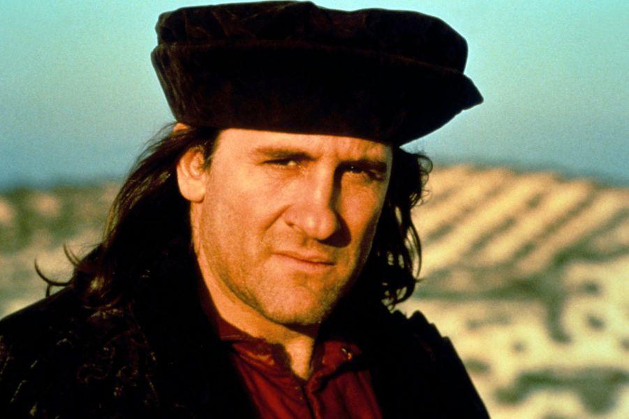 """Gérard Depardieu dans """"Christophe Colomb"""" en 1992."""