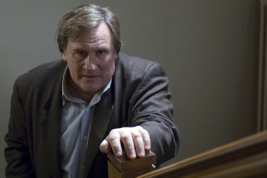 "Gérard Depardieu dans ""Bellamy"" en 2009."