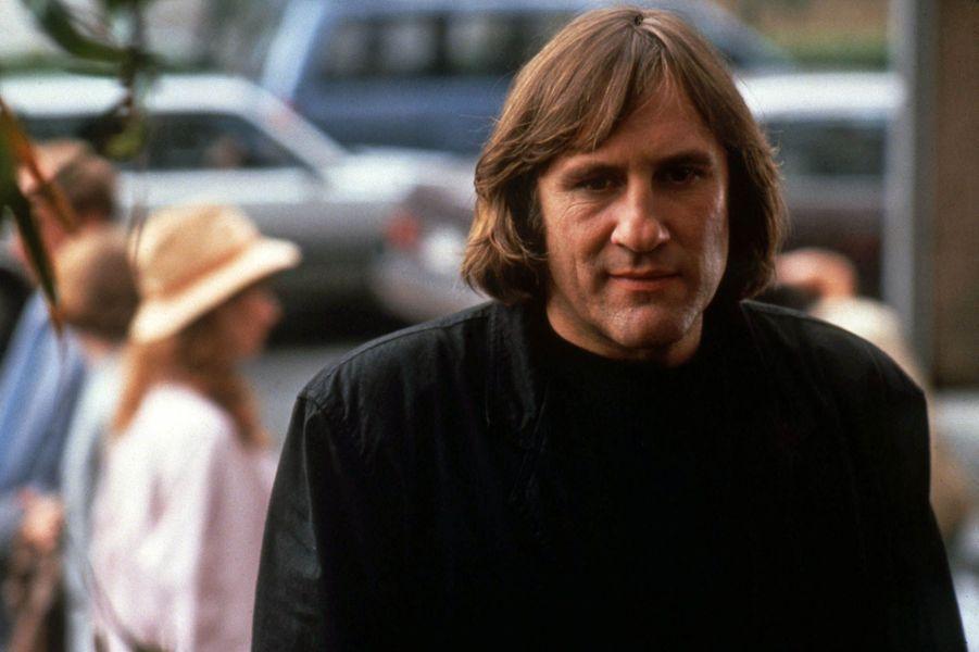 "Gérard Depardieu dans ""Green Card"" en 1990."