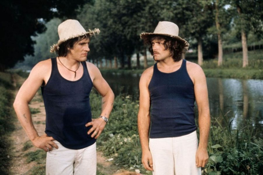 """Gérard Depardieu en 1974 dans """"Les Valseuses""""."""