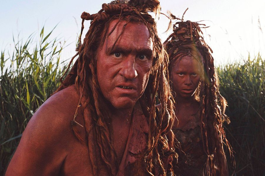 "Gérard Depardieu dans ""RRRrrrr!"" en 2004."