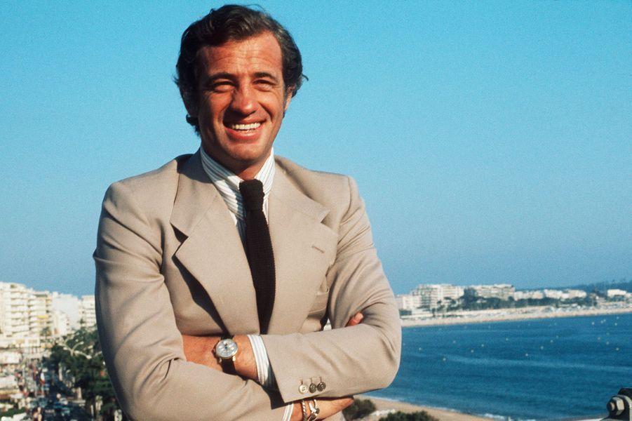 Jean-Paul Belmondo à Cannes en 1974