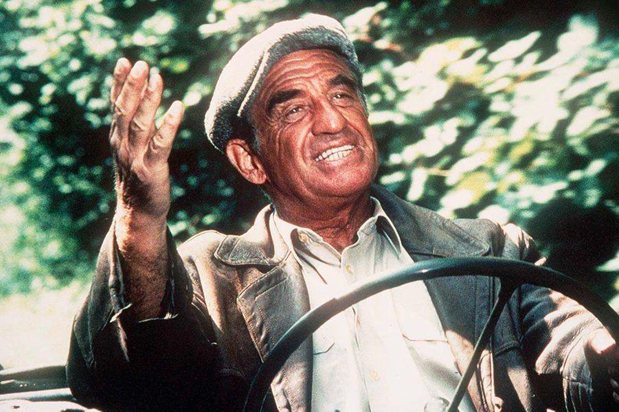 """Jean-Paul Belmondo dans """"Les misérables"""" en 1995"""