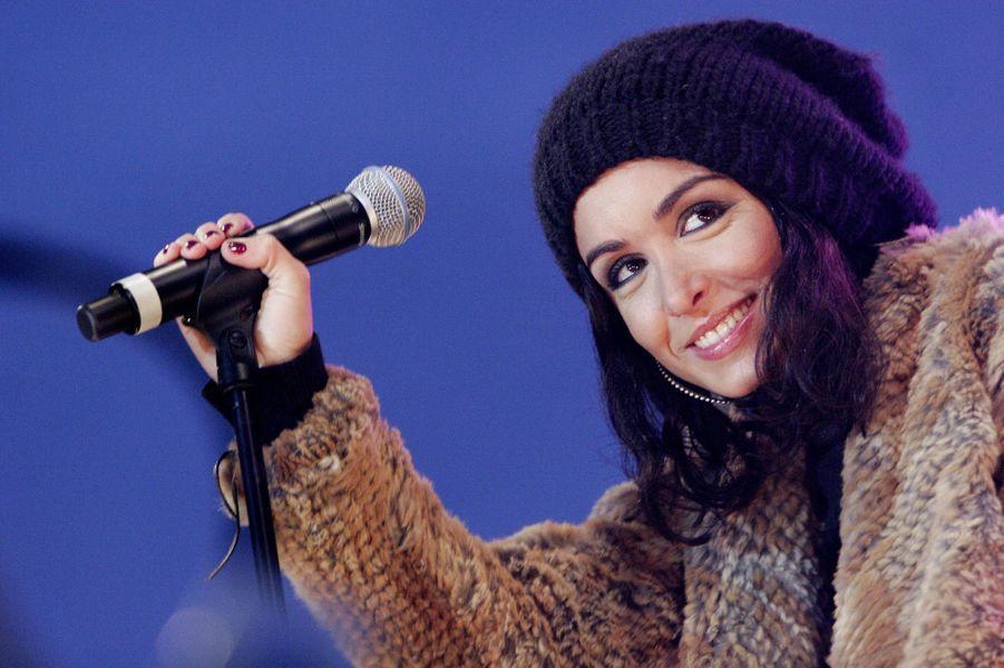 Jenifer, le 30 janvier 2006 à Nice.