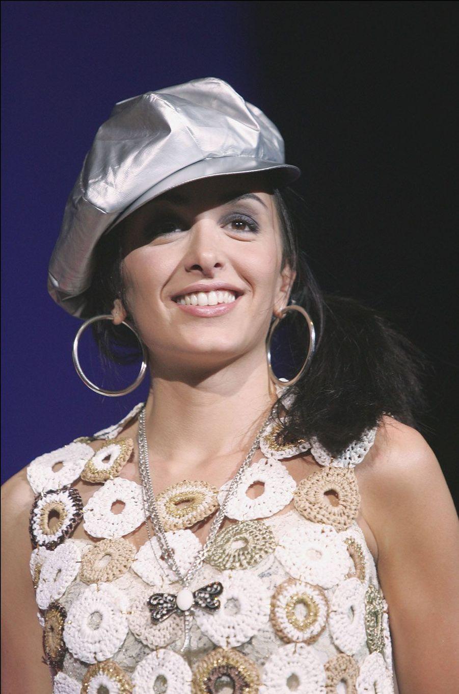 Jenifer, le 29 mai 2004 à Paris.