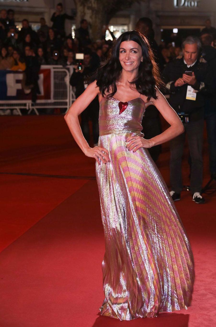 Jenifer, le 12 novembre 2016 à Cannes.