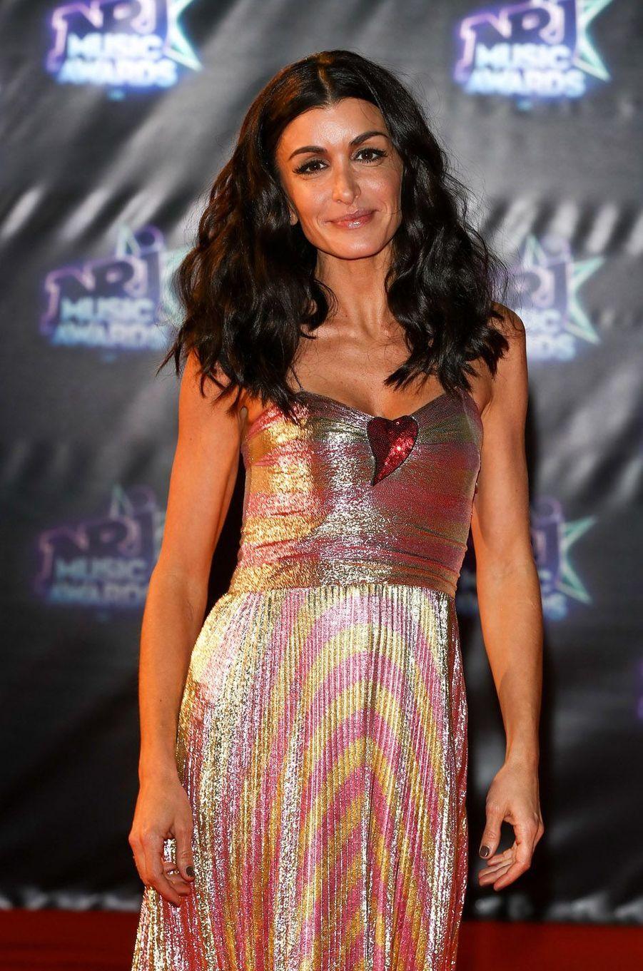 Jenifer, le 12 novembre 2013 à Cannes.