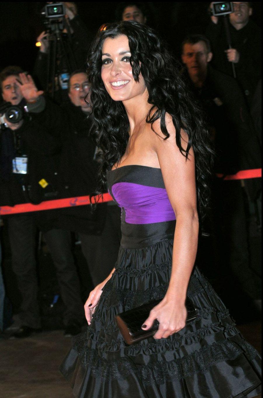 Jenifer, le 26 janvier 2008 à Cannes.
