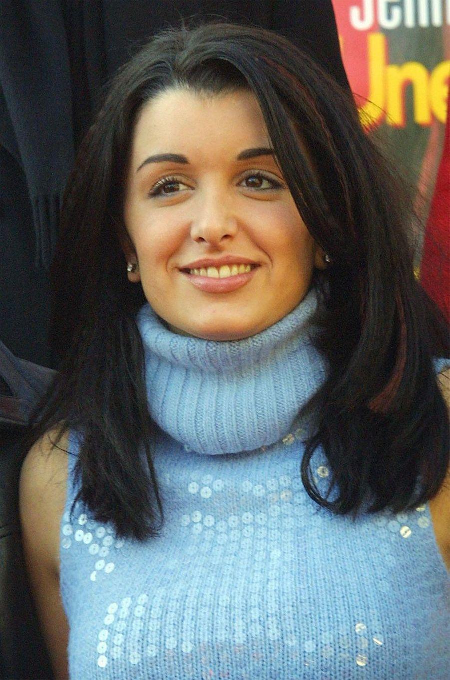 Jenifer, le 20 janvier 2002 à Cannes.