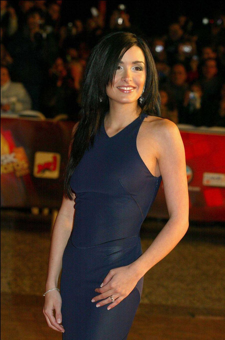 Jenifer, le 24 janvier 2004 à Cannes.