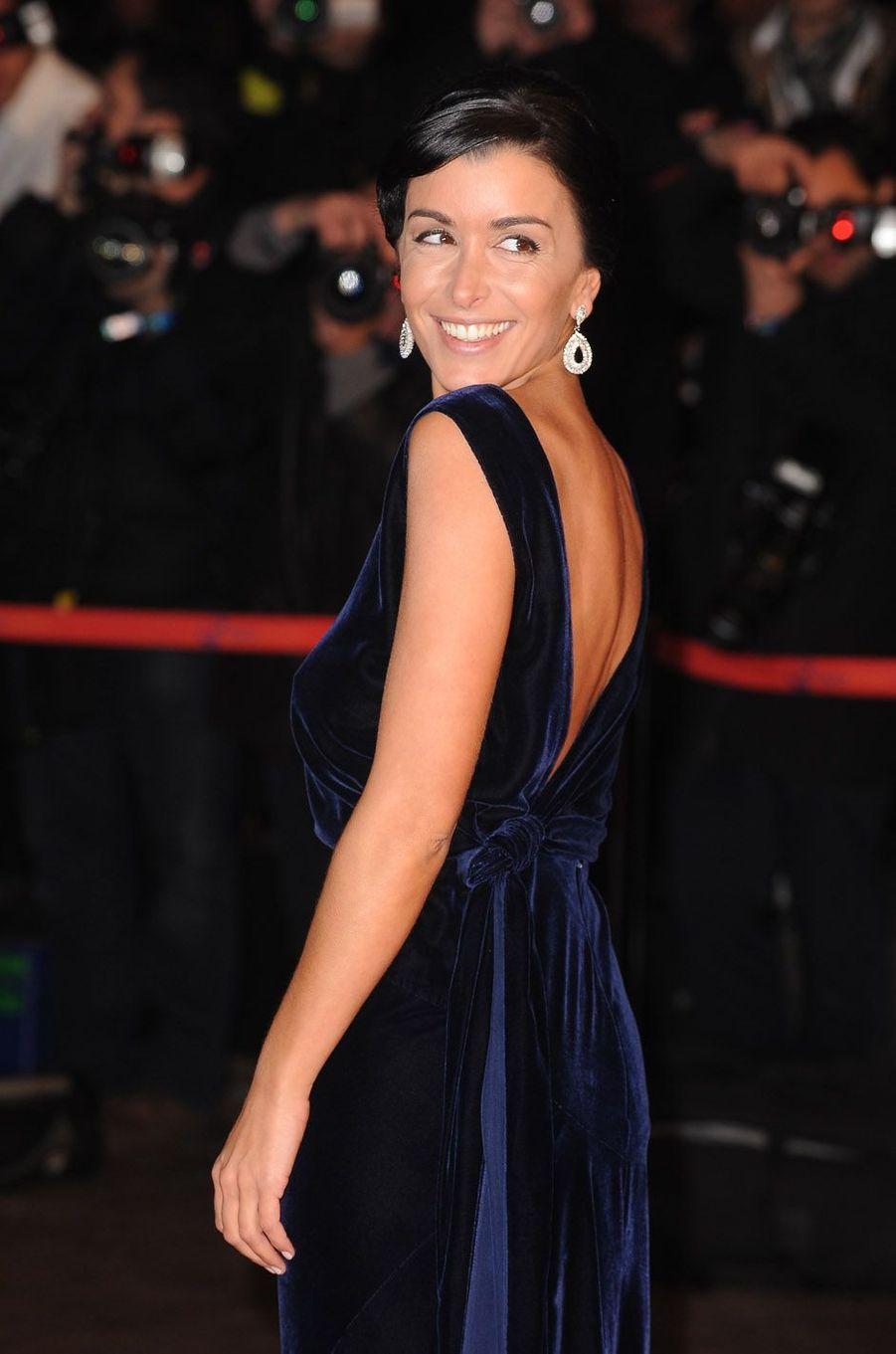 Jenifer, le 24 janvier 2010 à Cannes.