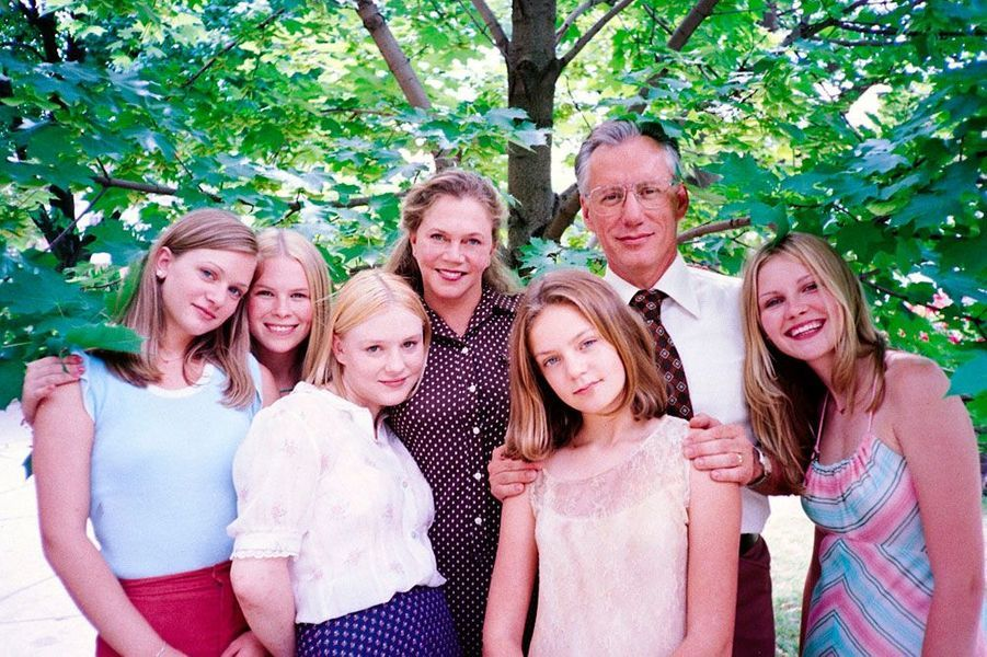 "Kirsten Dunst en 1999 dans ""Virgin Suicides"", film de Sofia Coppola"