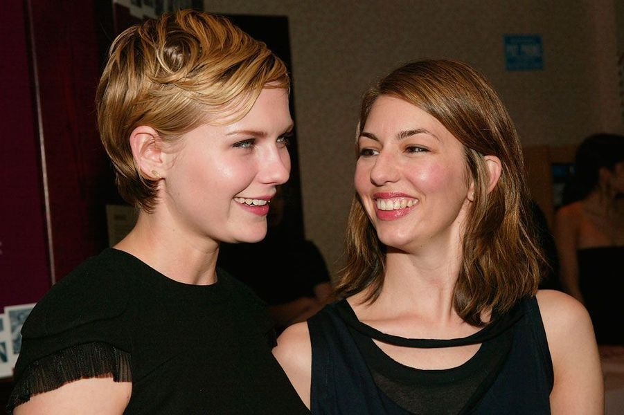 Kirsten Dunst et Sofia Coppola en 2004