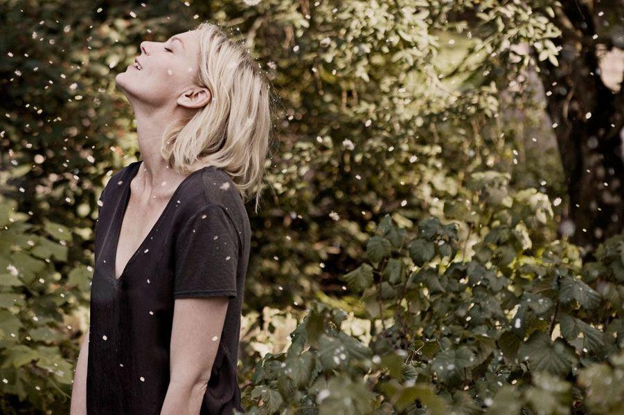 """Kirsten Dunst en 2011 dans """"Melancholia"""""""