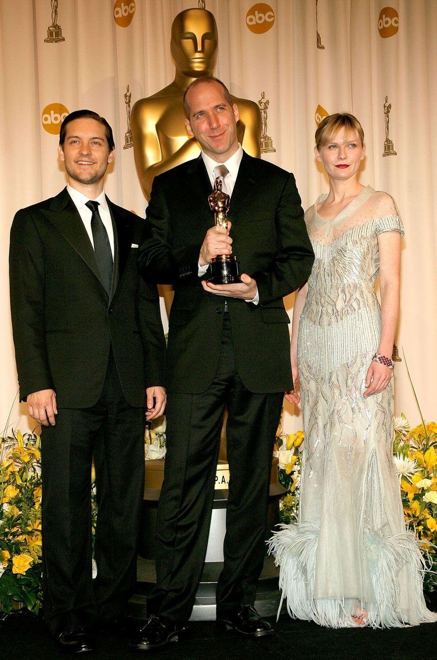 Kirsten Dunst en 2007 aux Oscars