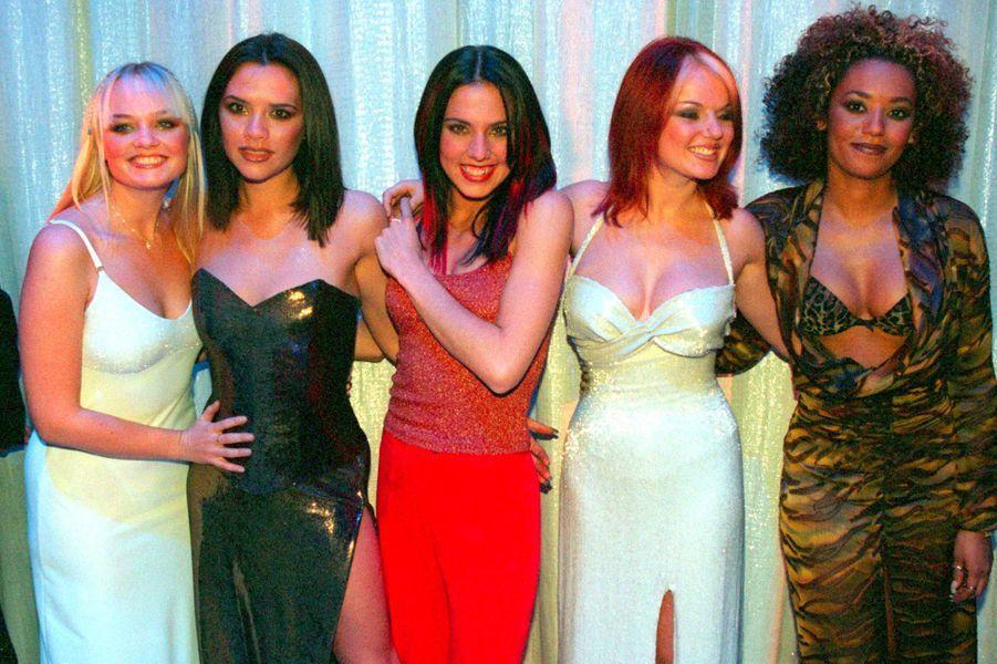 Les Spice Girls en décembre 1997