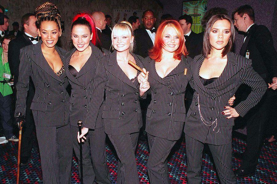 Les Spice Girls en décembre 1998