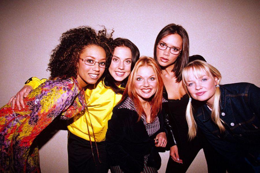 Les Spice Girls en juin 1995