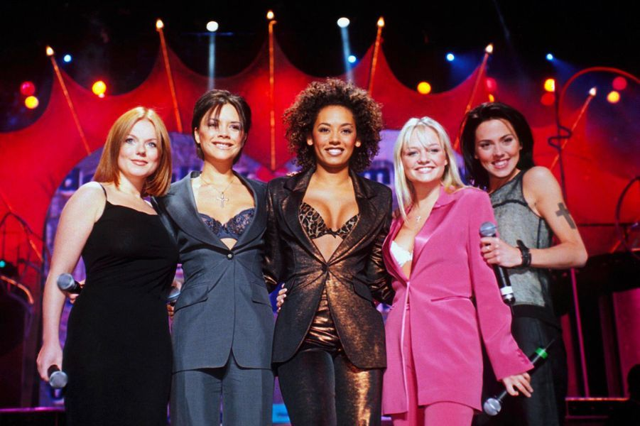 Les Spice Girls en juin 1998