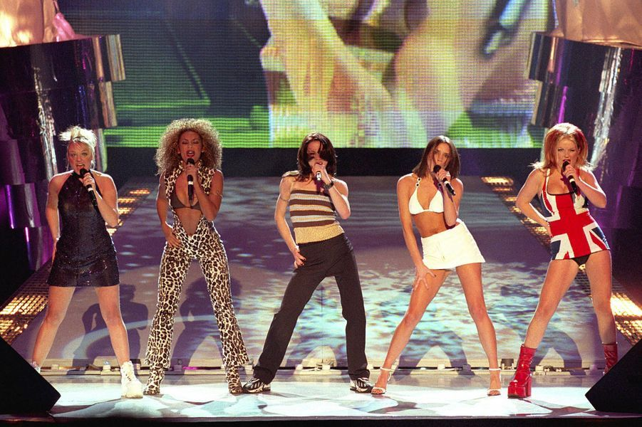 Les Spice Girls en février 1997