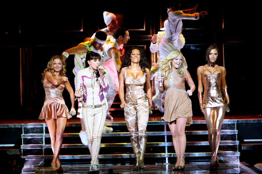 Les Spice Girls en décembre 2007