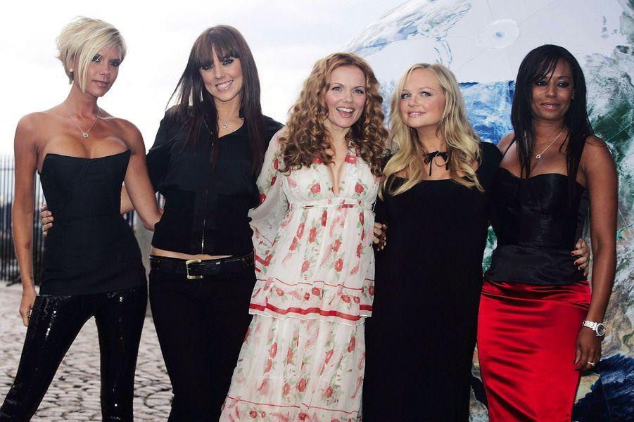 Les Spice Girls en juin 2007