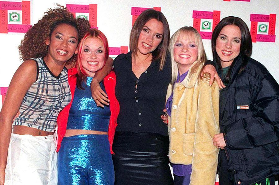 Les Spice Girls en octobre 1997