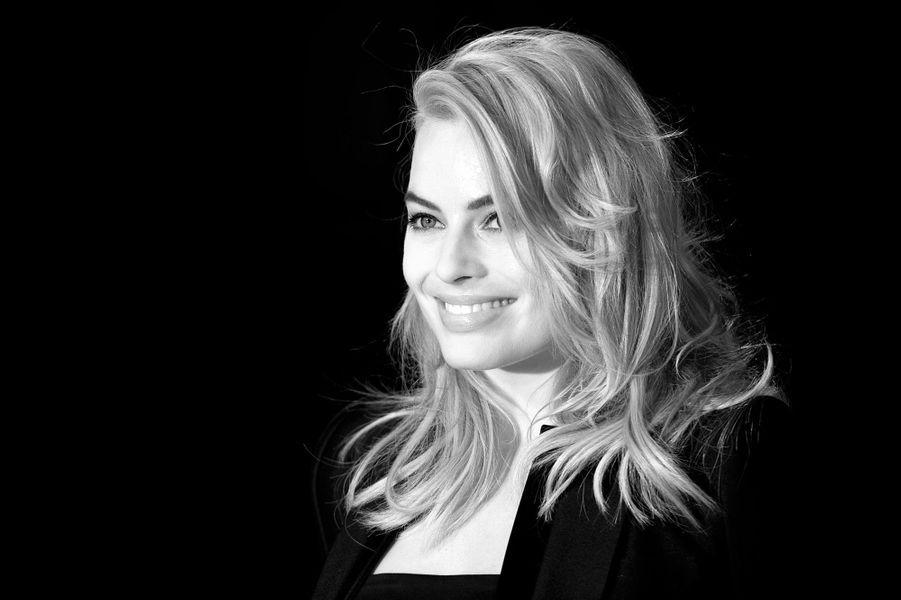 Margot Robbie à l'avant-premiere de Focus en 2015