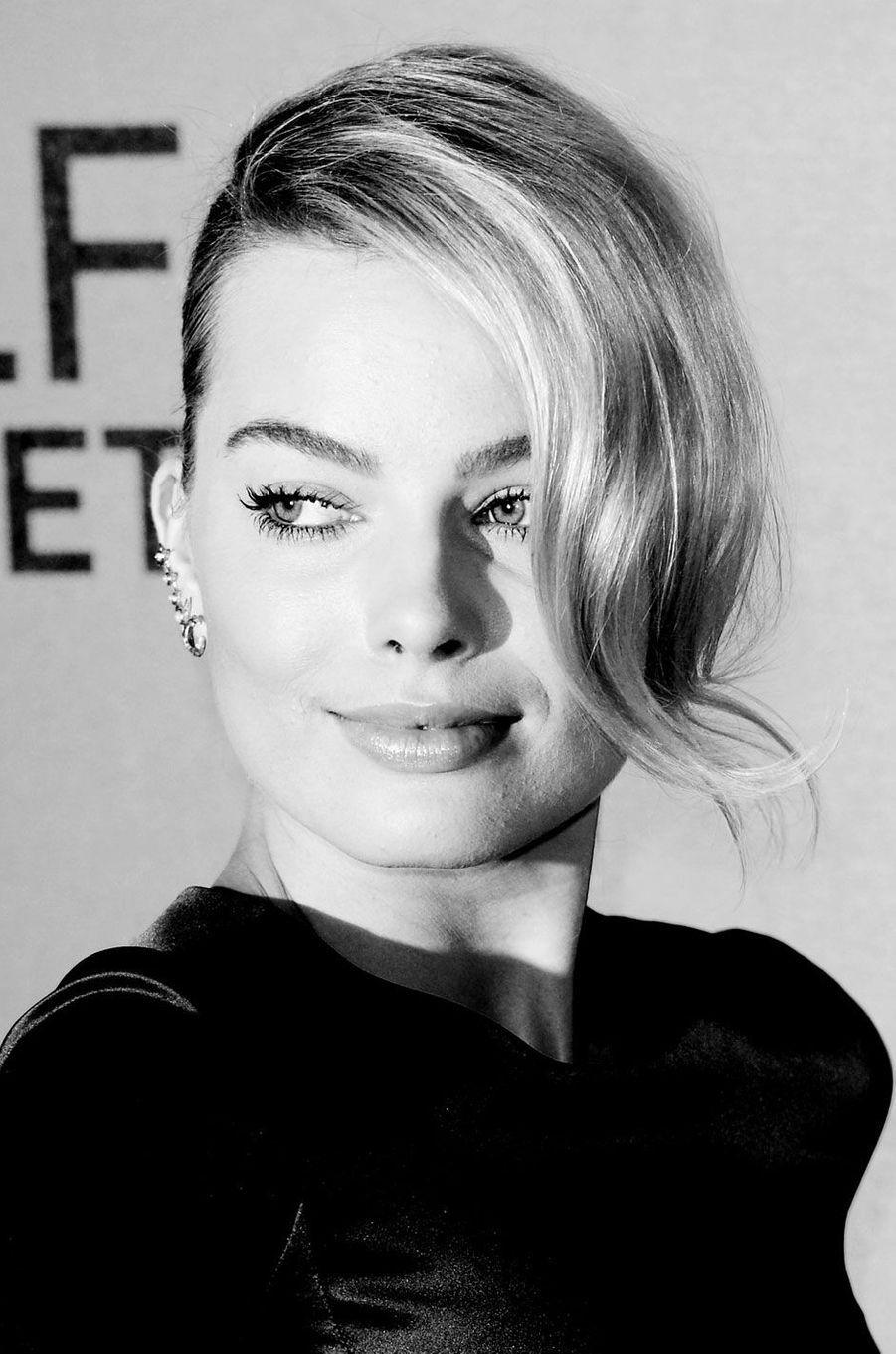 Margot Robbie à l'avant-première du Loup de Wall Street en janvier 2014