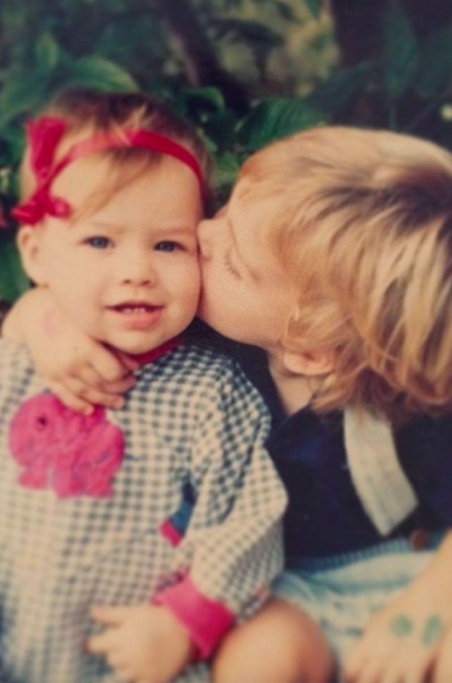 Margot Robbie et son frère