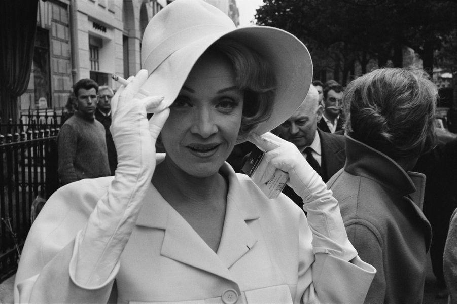 Marlene Dietrich en 1962