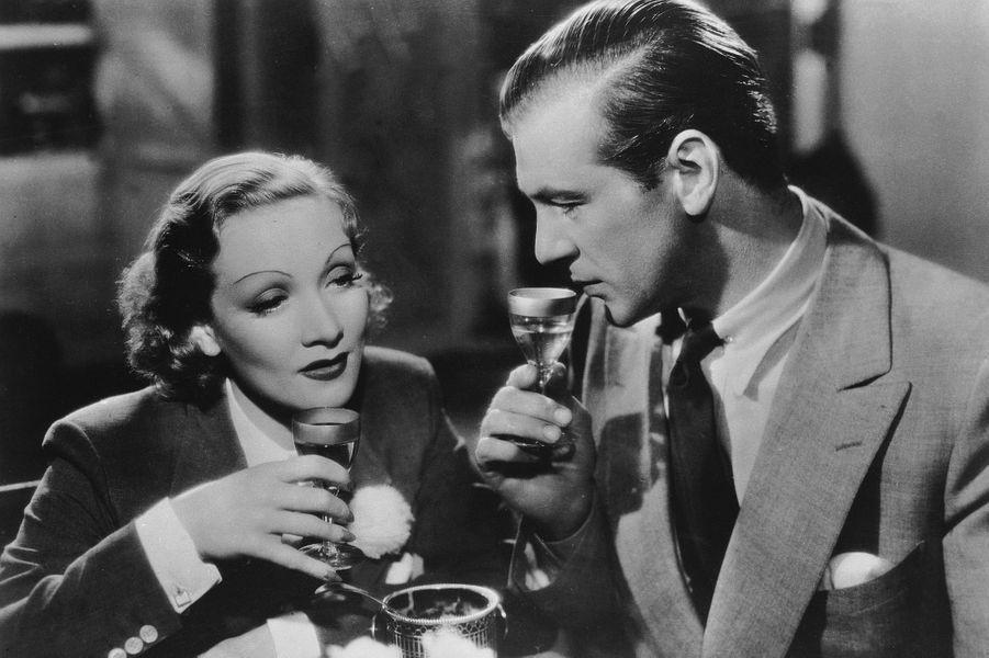 Marlene Dietrich, avec Gary Cooper, en 1936