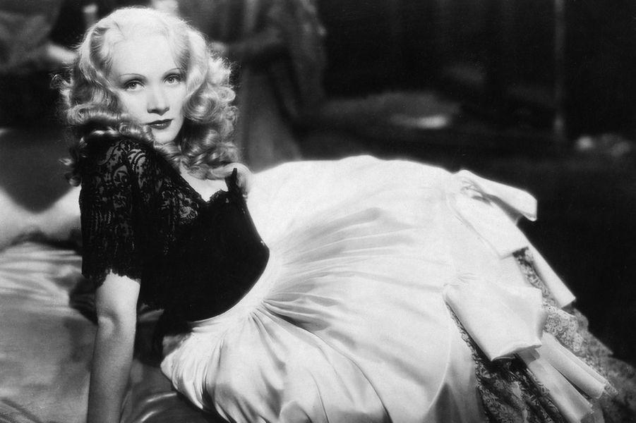 Marlene Dietrich en 1934
