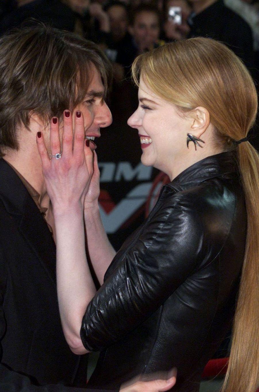 Nicole Kidman et Tom Cruise, un couple mythique à Hollywood dans les années 90.