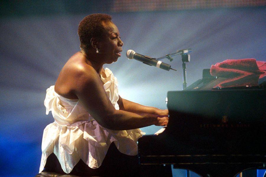 Nina Simone en Angleterre en 1999