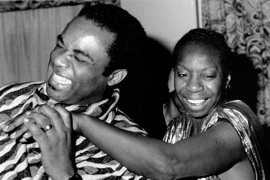 Nina Simone dans les années 70
