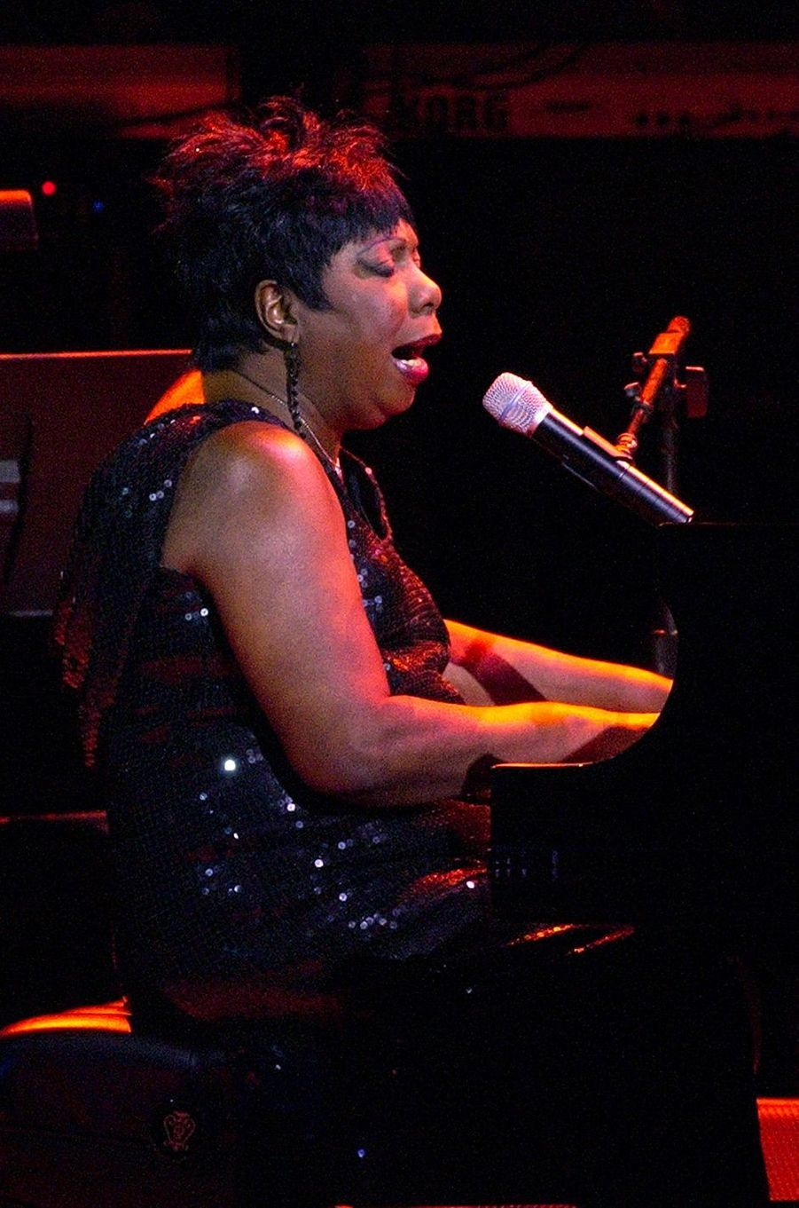 Nina Simone à New York en 2002